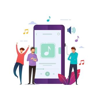 Mobiele muziek