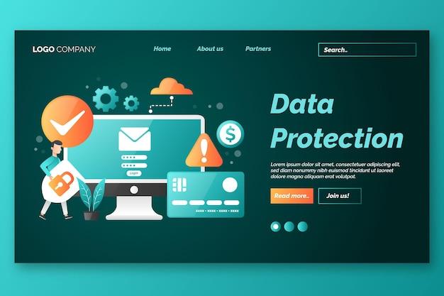Mobiele phishing-bestemmingspagina