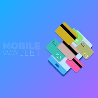Mobiele portemonnee