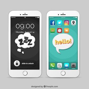 Mobiele spraakbellen wallpapers