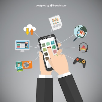 Mobiele telefoon apps