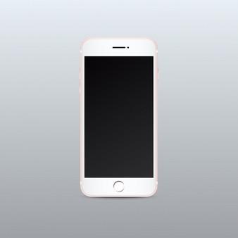 Mobiele telefoon mock up design