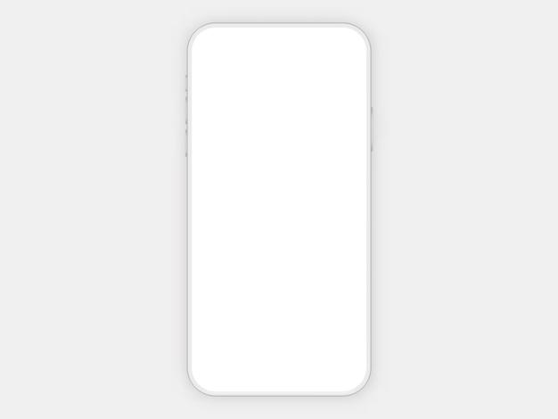 Mobiele telefoon wit