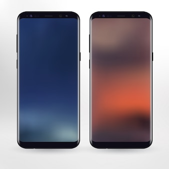 Mobiele telefoons illustratie