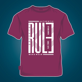 Mockup grafische t-shirt cool design