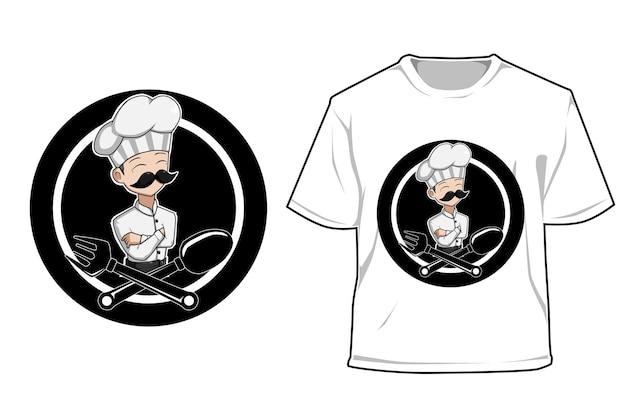 Mockup oude chef
