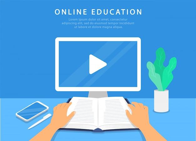Mockup videogesprekken op laptop. scherm met videogesprek. videoconferentie. online vergadering. quarantaine.