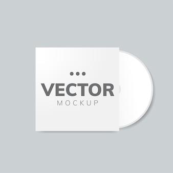 Mockup voor cd-hoesontwerp