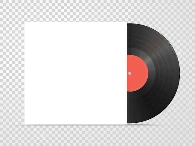 Mockup voor vinyl en karton