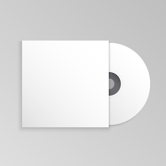Mockupsjabloon voor cd en cd