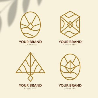 Mode-accessoires logo collectie