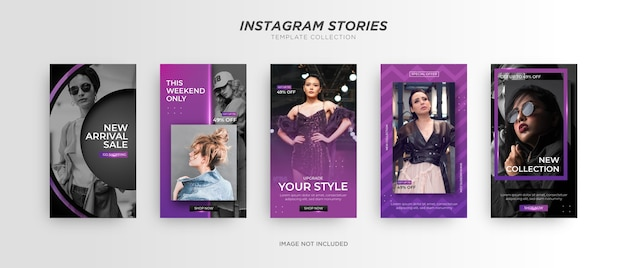 Mode banner. promotie op sociale media