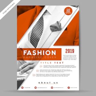 Mode-brochure / flyer-sjabloon