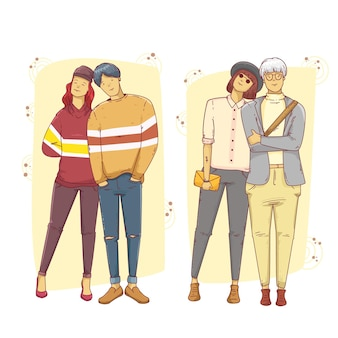 Mode jonge koreanen