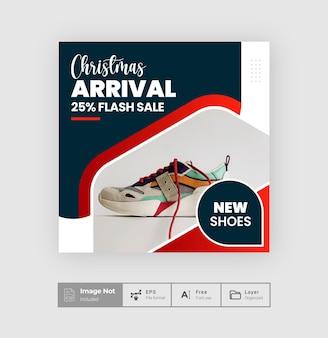 Mode sociale media pot ontwerp flyer vierkante post ontwerp verkoop post sjabloon verhaal thema