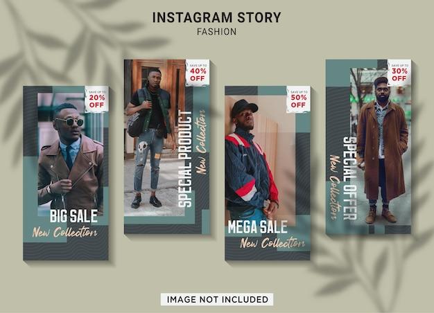 Mode verkoop instagram verhaal collectie sjabloon