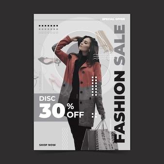 Mode verkoop sjabloon concept