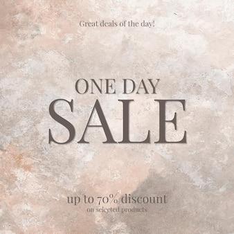 Mode verkoop winkelen sjabloon vector promotionele esthetische sociale media advertentie