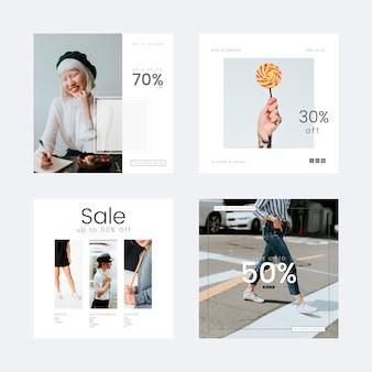 Mode verkoopsjabloon
