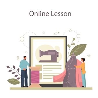 Modeontwerper of maat online service of platform