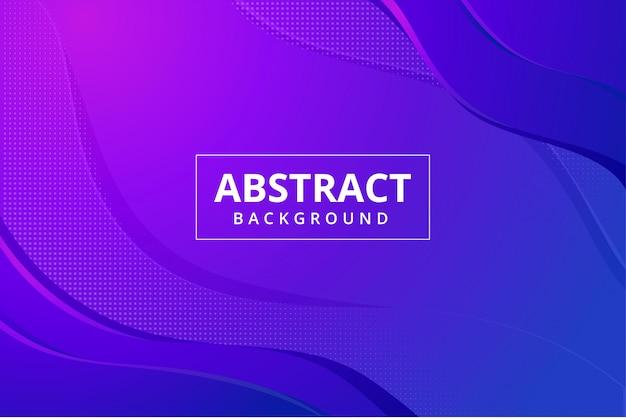 Modern abstract behang als achtergrond in levendige blauw paars roze kleur