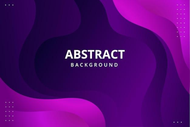 Modern abstract behang als achtergrond in levendige blauw paars roze paarse kleur