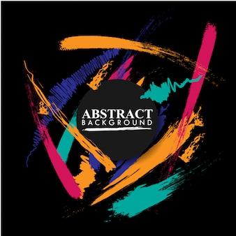 Modern abstract geometrisch patroonontwerp en achtergrond.