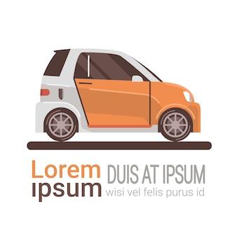 Modern auto elektrisch het laden milieuvriendelijk voertuig
