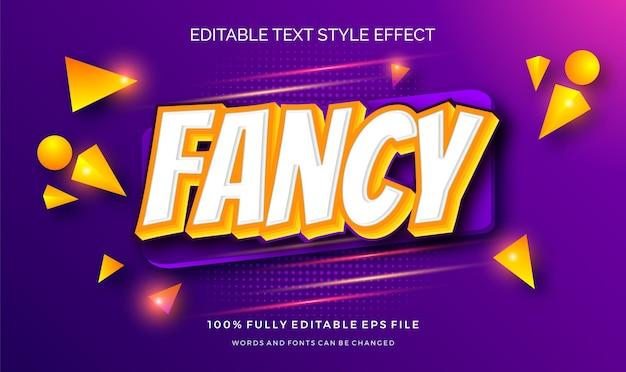 Modern bewerkbaar tekststijleffect met. bewerkbare tekst. .