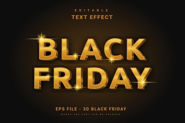 Modern black friday-teksteffect