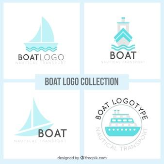 Modern boot logo collectie