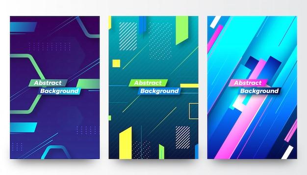 Modern creatief abstract vectorontwerp als achtergrond