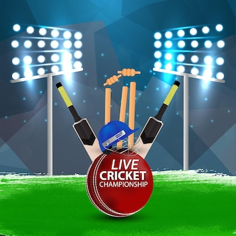 Modern cricketstadion concept
