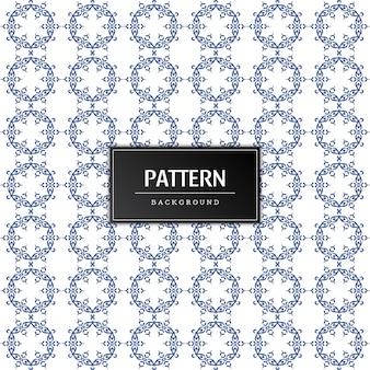 Modern decoratief naadloos patroon