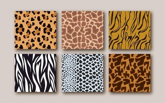 Modern dierenprintpatroon