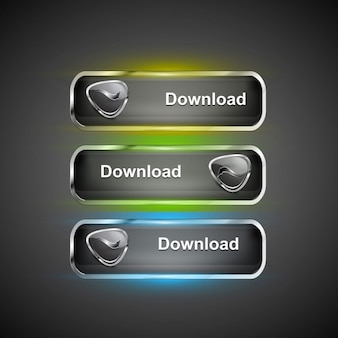 Modern downloaden pictogrammen