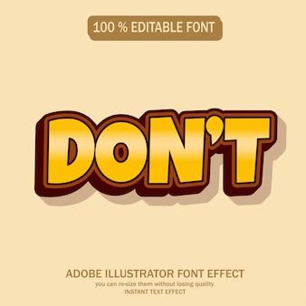 Modern en futuristisch lettertype met cool effect