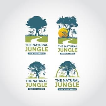 Modern en minimalistisch logo sjabloon