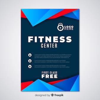 Modern fitness sjabloon folder