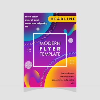 Modern flyerontwerp