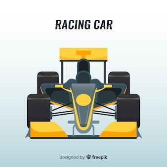 Modern formule 1 raceautoontwerp