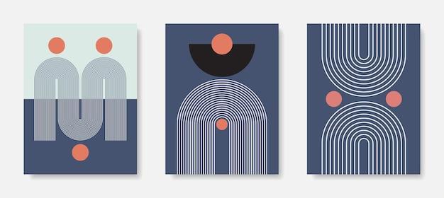 Modern frame art. abstracte kunst aan de muur. digitale interieurdecoratie art.