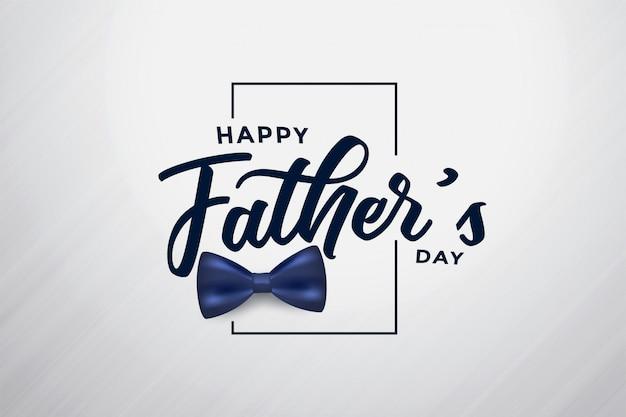 Modern gelukkig vaders dag aantrekkelijk ontwerp