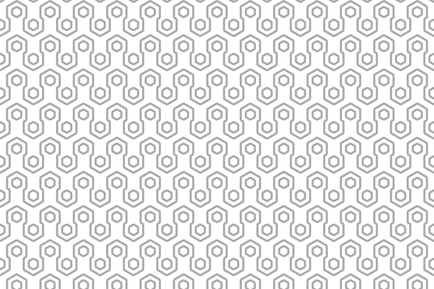Modern geometrisch naadloos patroon