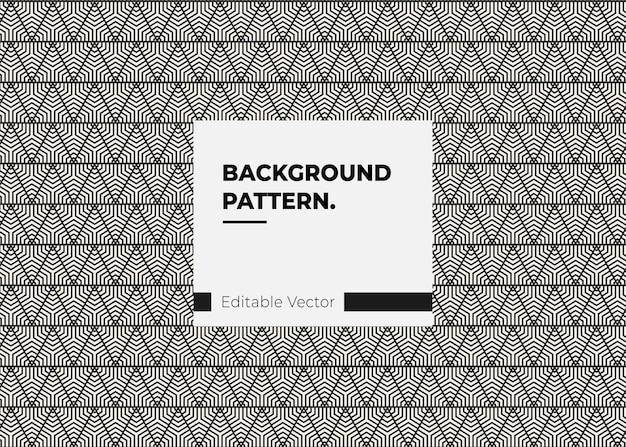 Modern geometrisch patroon voor web en poster