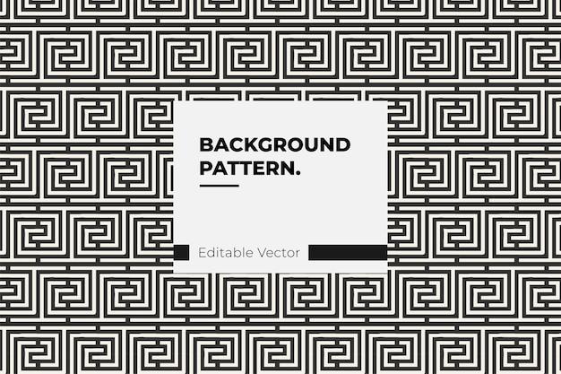 Modern geometrisch patroon