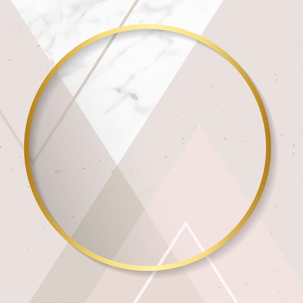 Modern gouden frame
