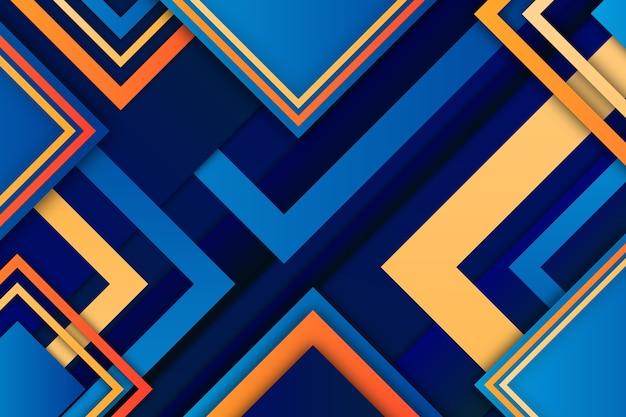 Modern gradiënt geometrisch vormenbehang