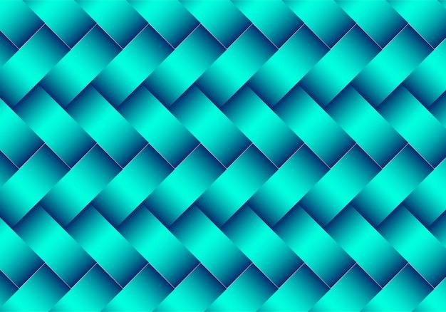 Modern groen geometrisch patroonontwerp