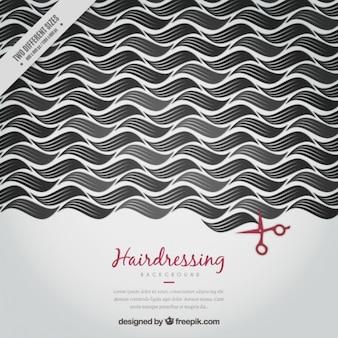 Modern hairdressing achtergrond